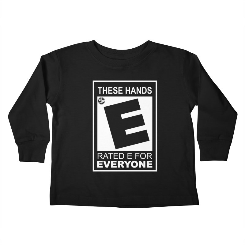 Catch These Hands Kids Toddler Longsleeve T-Shirt by The Wicked Good Gaming Shop