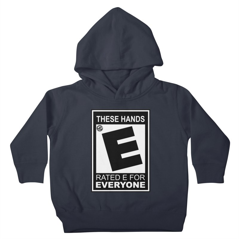 Catch These Hands Kids Toddler Pullover Hoody by The Wicked Good Gaming Shop