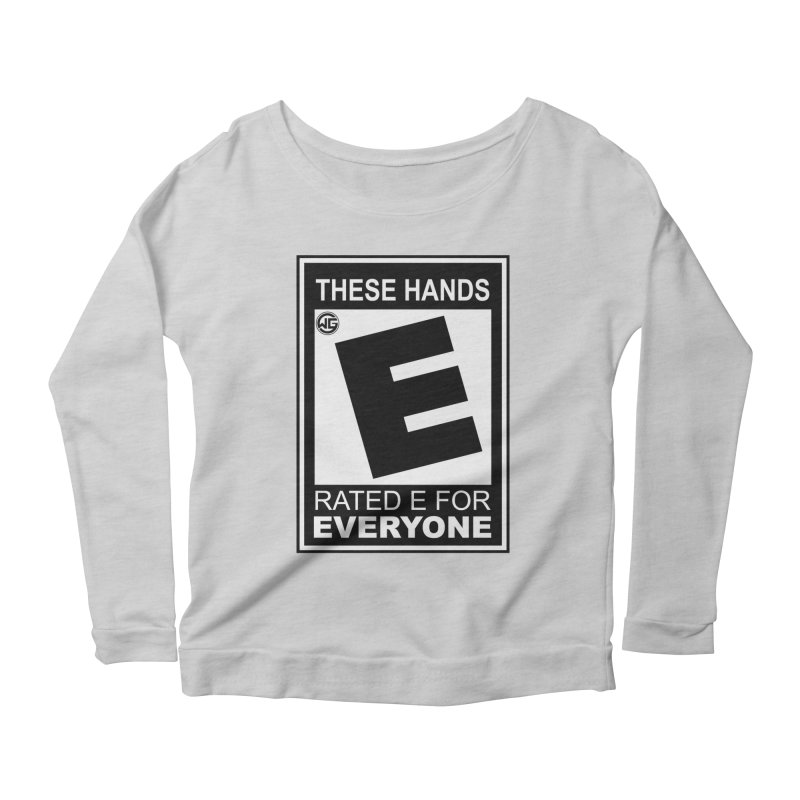 Catch These Hands Women's Scoop Neck Longsleeve T-Shirt by The Wicked Good Gaming Shop