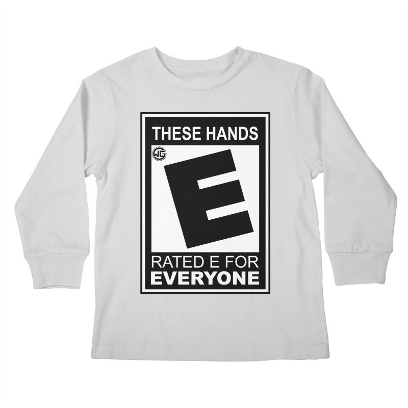 Catch These Hands Kids Longsleeve T-Shirt by The Wicked Good Gaming Shop