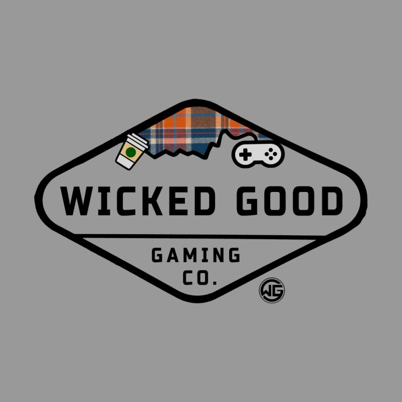 Wicked Basic Men's Longsleeve T-Shirt by The Wicked Good Gaming Shop