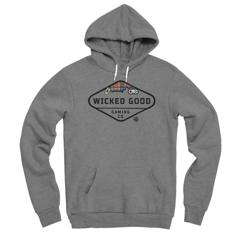 Wicked Basic Men's Pullover Hoody by The Wicked Good Gaming Shop