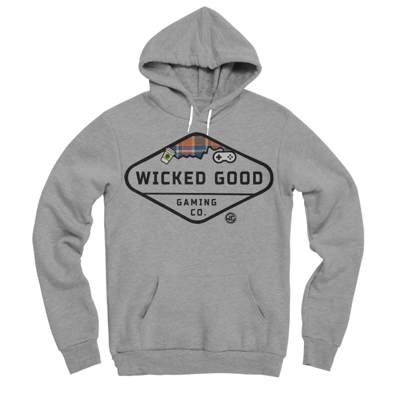 Wicked Basic Women's Sponge Fleece Pullover Hoody by The Wicked Good Gaming Shop