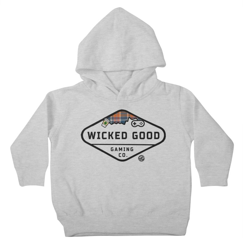Wicked Basic Kids Toddler Pullover Hoody by The Wicked Good Gaming Shop
