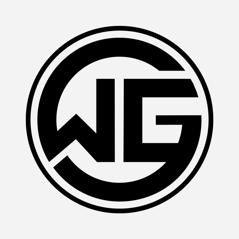 WGG (Black) Men's Tank by The Wicked Good Gaming Shop