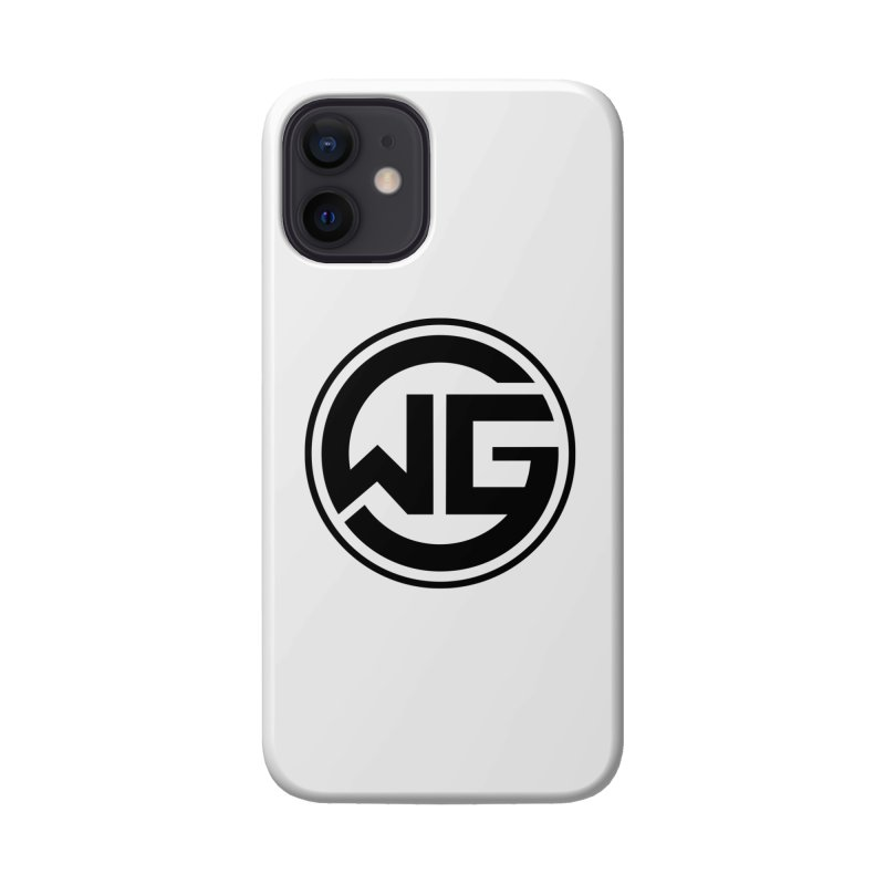 WGG (Black) Accessories Phone Case by The Wicked Good Gaming Shop