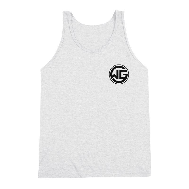 WGG (Black) Men's Triblend Tank by The Wicked Good Gaming Shop