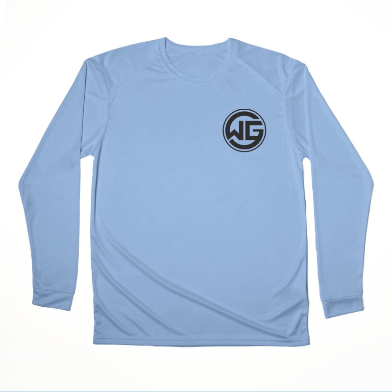 WGG (Black) Men's Longsleeve T-Shirt by The Wicked Good Gaming Shop