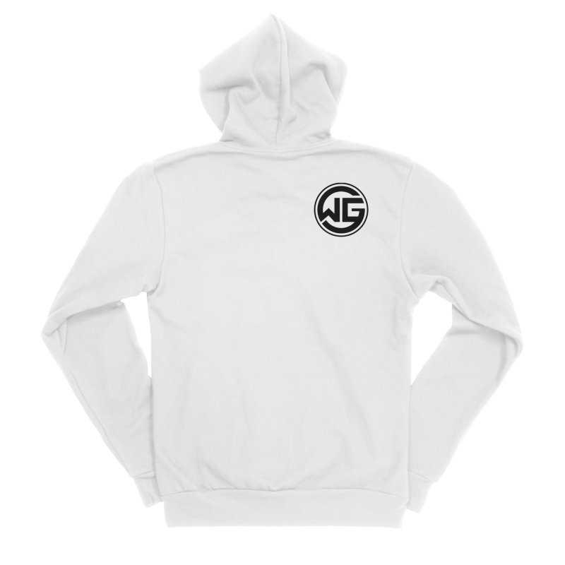 WGG (Black) Women's Zip-Up Hoody by The Wicked Good Gaming Shop