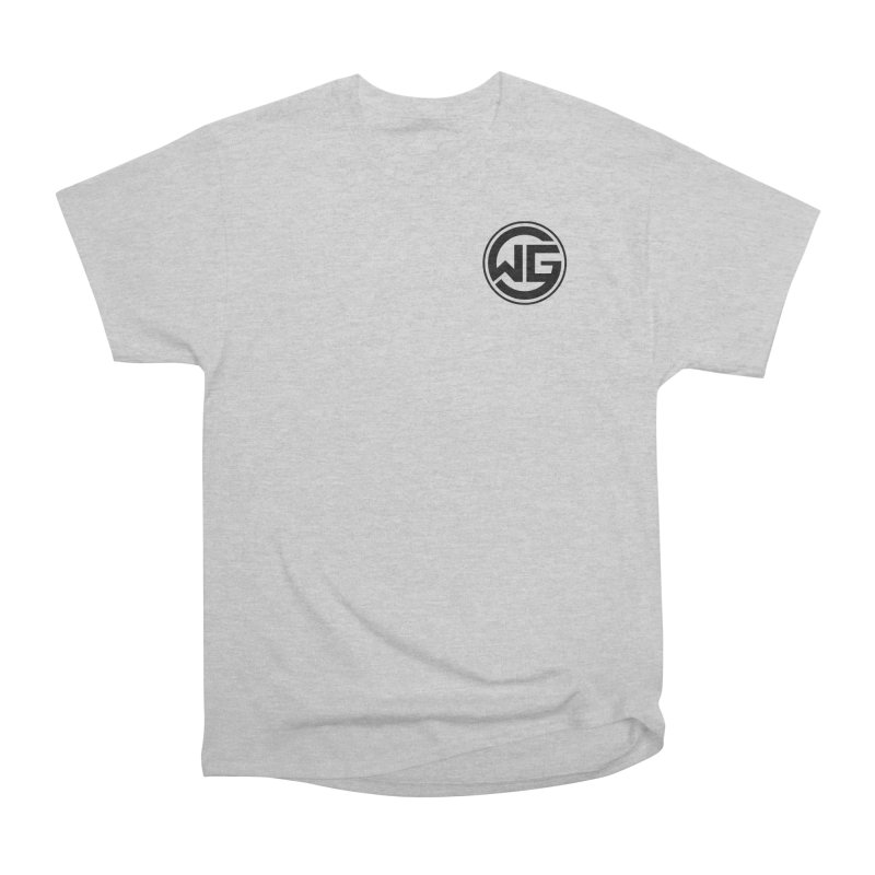 WGG (Black) Women's Heavyweight Unisex T-Shirt by The Wicked Good Gaming Shop
