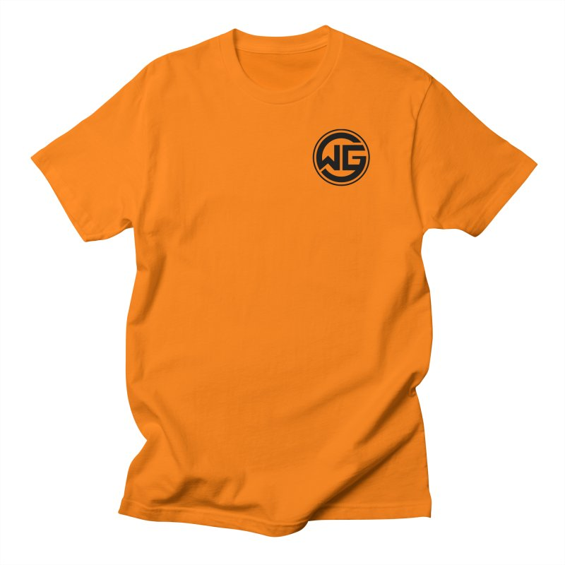 WGG (Black) Men's T-Shirt by The Wicked Good Gaming Shop