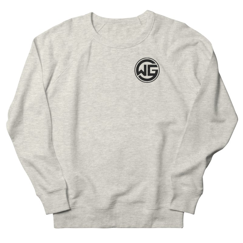 WGG (Black) Women's French Terry Sweatshirt by The Wicked Good Gaming Shop
