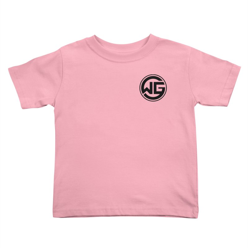 WGG (Black) Kids Toddler T-Shirt by The Wicked Good Gaming Shop