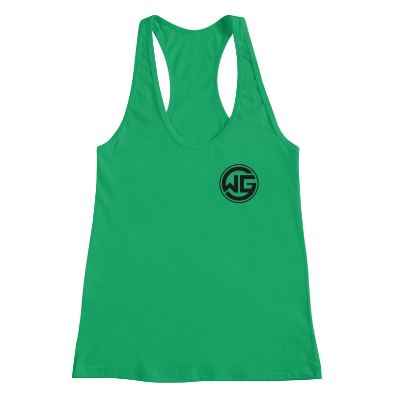 WGG (Black) Women's Tank by The Wicked Good Gaming Shop