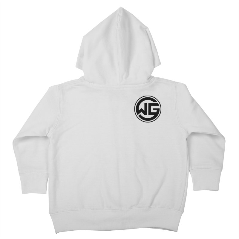 WGG (Black) Kids Toddler Zip-Up Hoody by The Wicked Good Gaming Shop