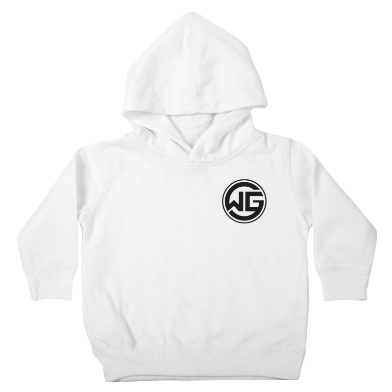 WGG (Black) Kids Toddler Pullover Hoody by The Wicked Good Gaming Shop