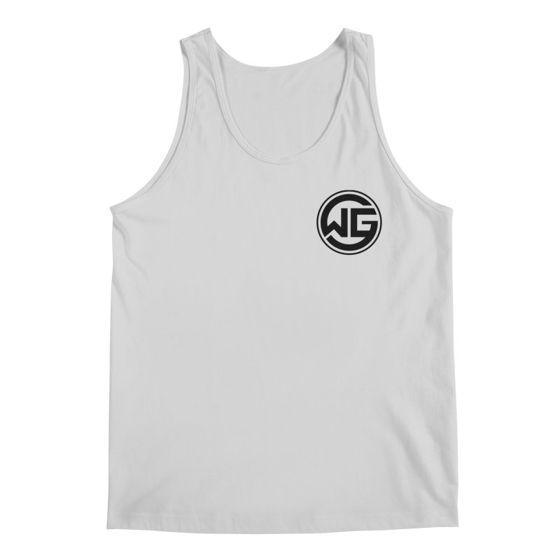 WGG (Black) Men's Regular Tank by The Wicked Good Gaming Shop