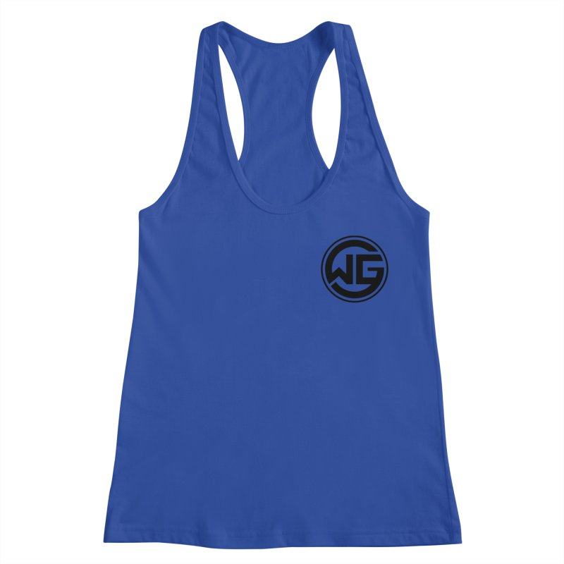 WGG (Black) Women's Racerback Tank by The Wicked Good Gaming Shop