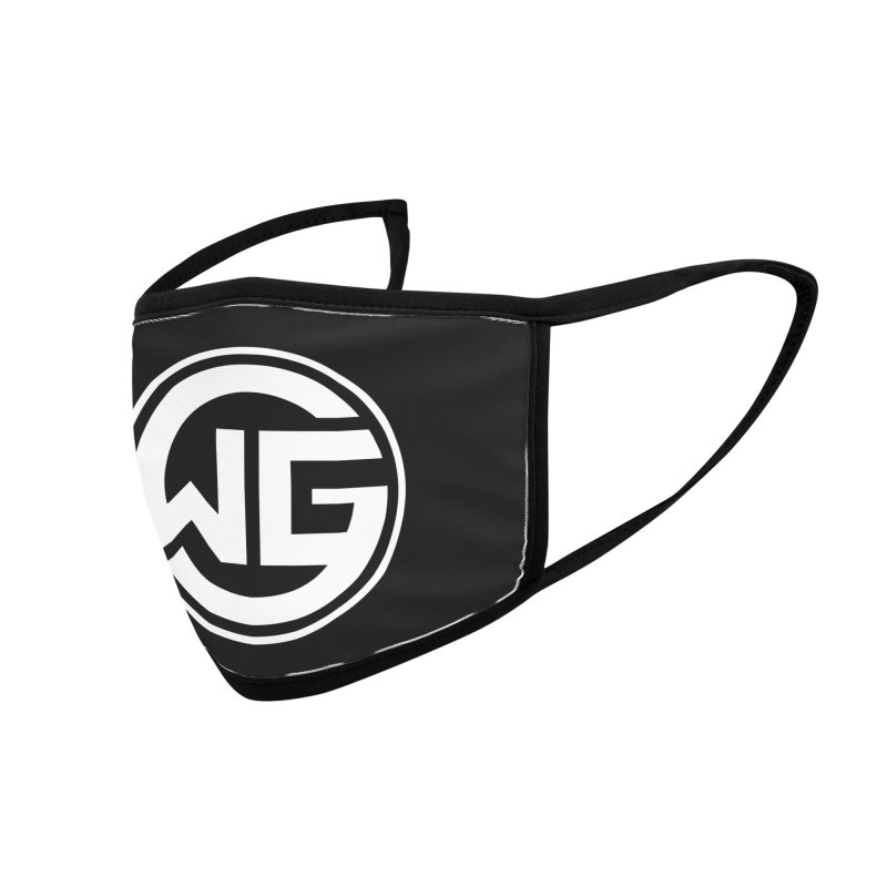WGG (White) Accessories Face Mask by The Wicked Good Gaming Shop