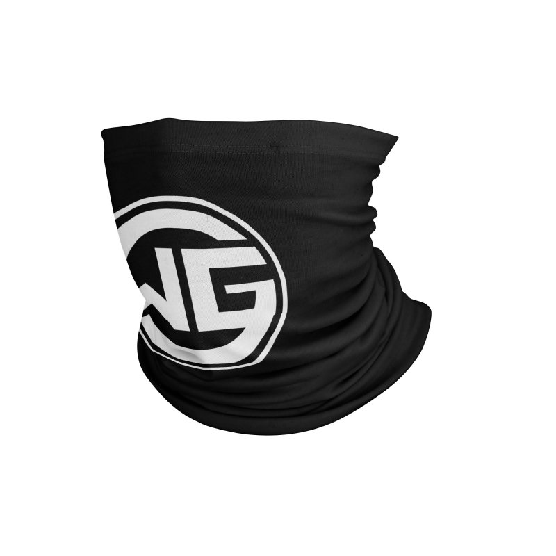 WGG (White) Accessories Neck Gaiter by The Wicked Good Gaming Shop