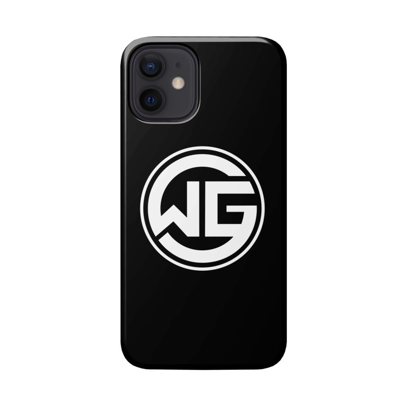 WGG (White) Accessories Phone Case by The Wicked Good Gaming Shop