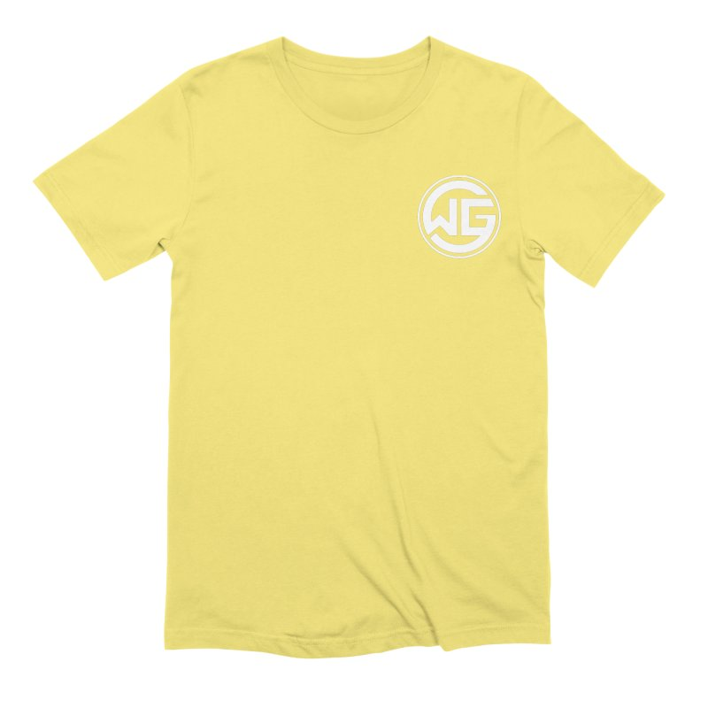 WGG (White) Men's Extra Soft T-Shirt by The Wicked Good Gaming Shop