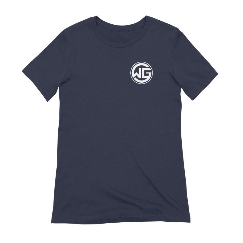 WGG (White) Women's Extra Soft T-Shirt by The Wicked Good Gaming Shop