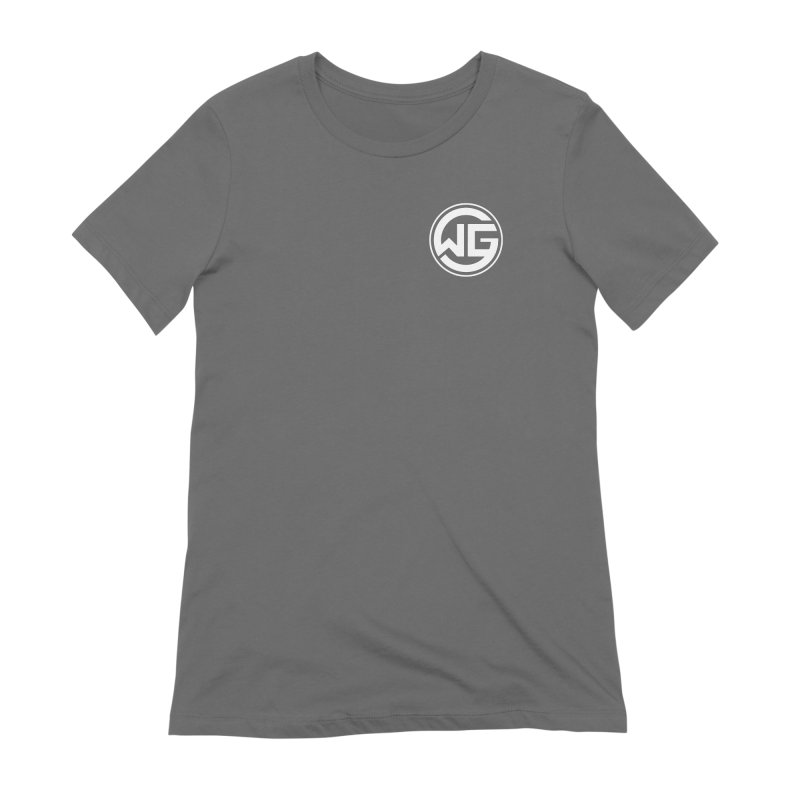 WGG (White) Women's T-Shirt by The Wicked Good Gaming Shop