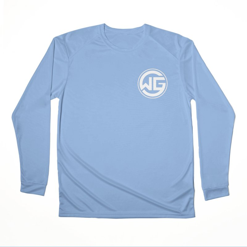 WGG (White) Men's Longsleeve T-Shirt by The Wicked Good Gaming Shop