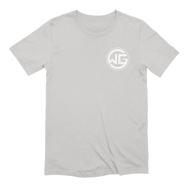 WGG (White) Men's T-Shirt by The Wicked Good Gaming Shop