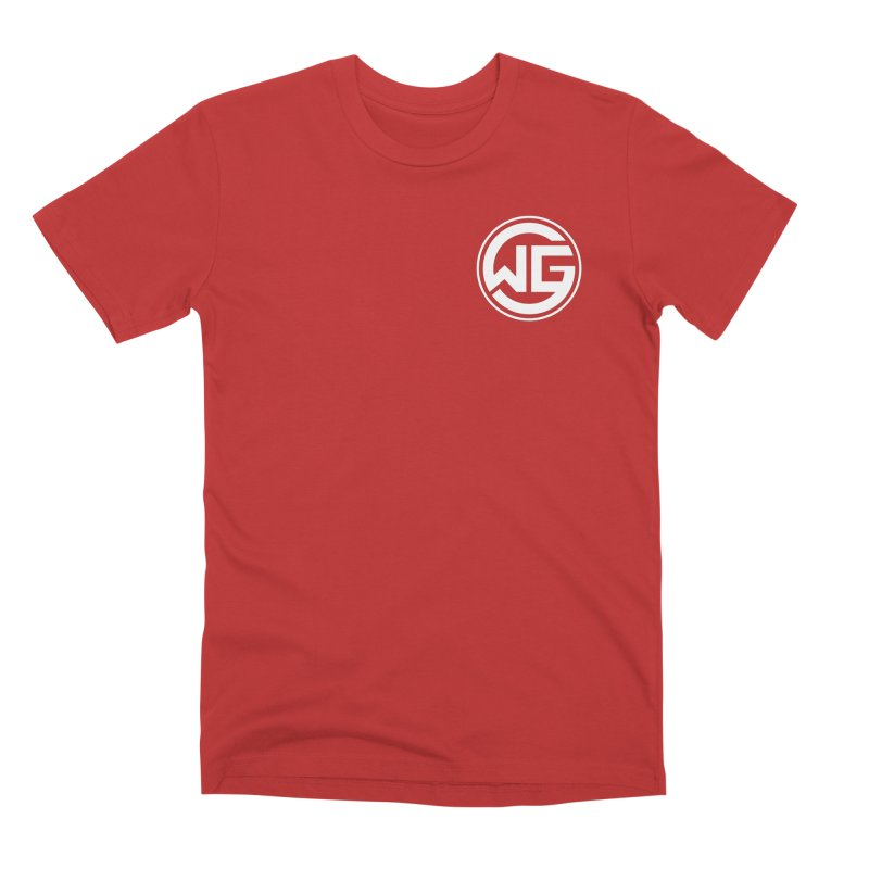 WGG (White) Men's Premium T-Shirt by The Wicked Good Gaming Shop