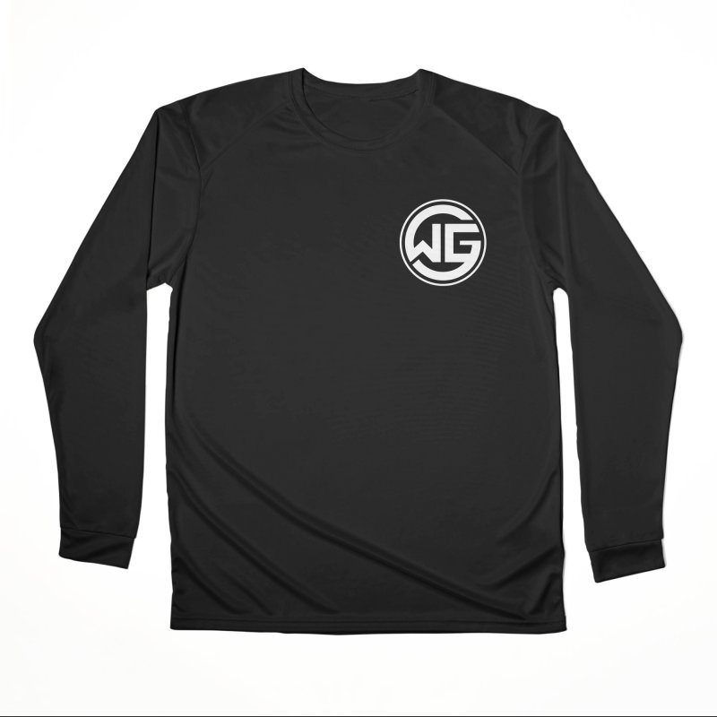 WGG (White) Men's Performance Longsleeve T-Shirt by The Wicked Good Gaming Shop