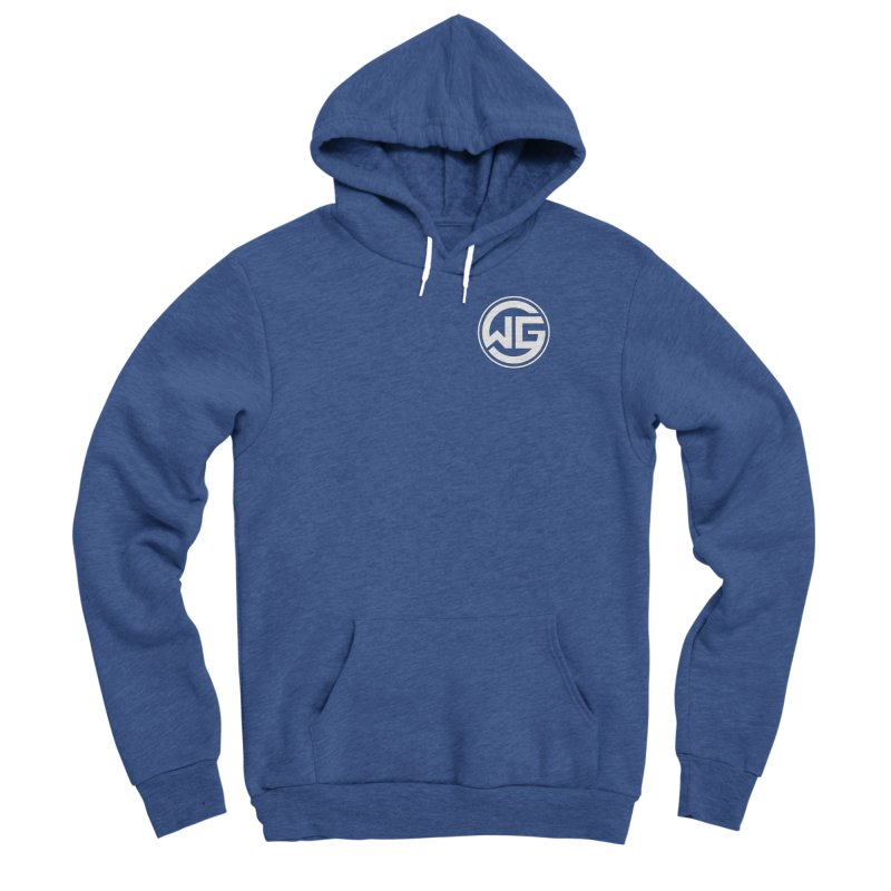 WGG (White) Men's Pullover Hoody by The Wicked Good Gaming Shop