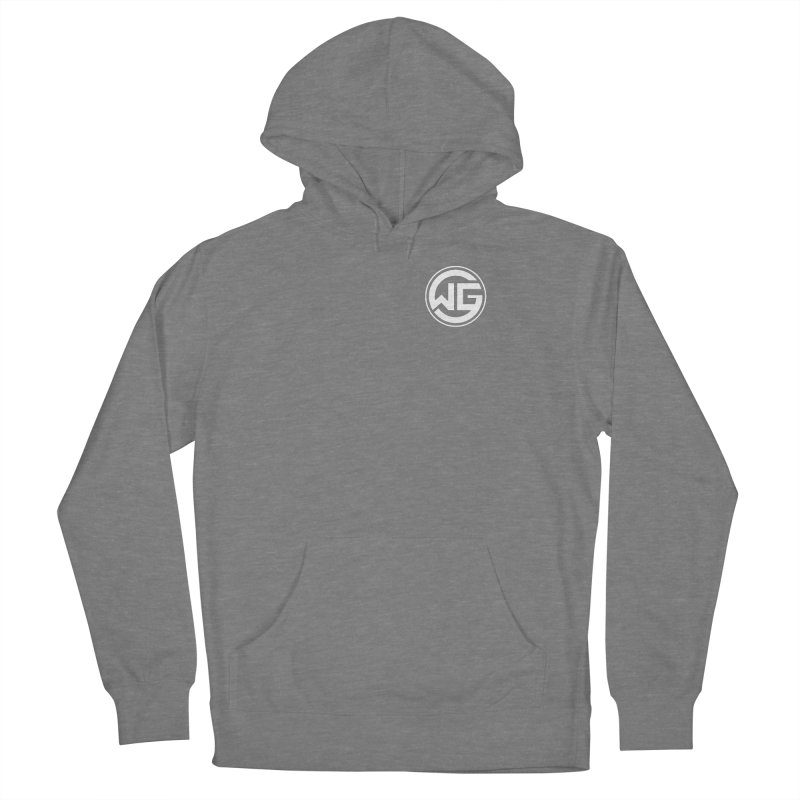 WGG (White) Women's Pullover Hoody by The Wicked Good Gaming Shop