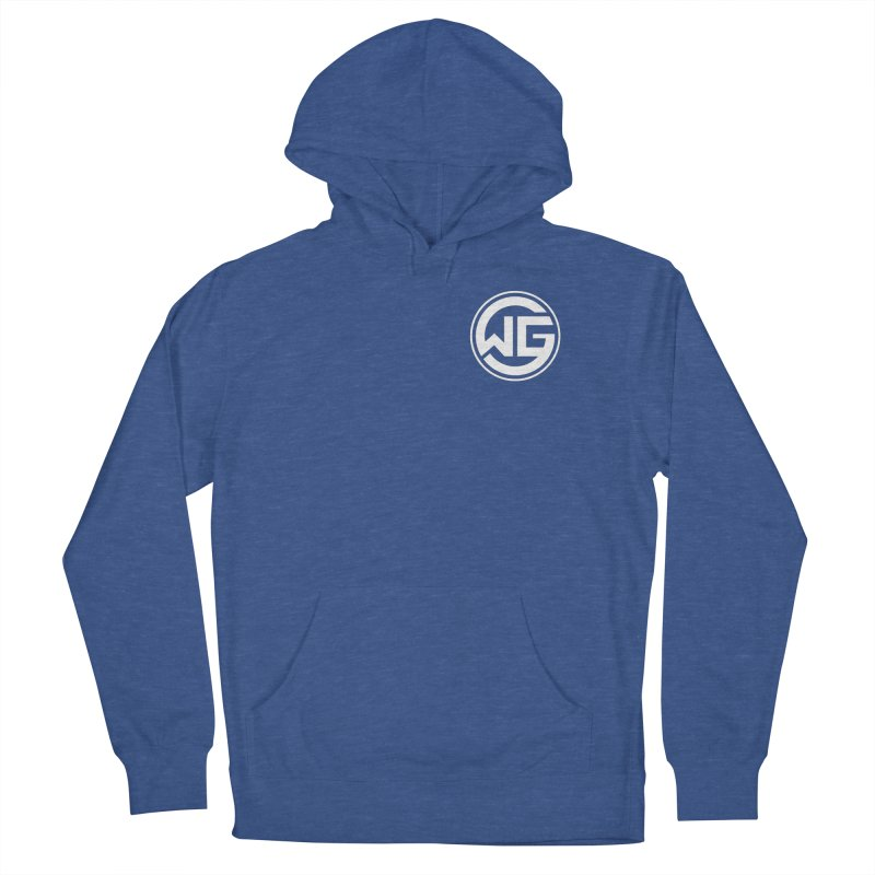 WGG (White) Women's French Terry Pullover Hoody by The Wicked Good Gaming Shop
