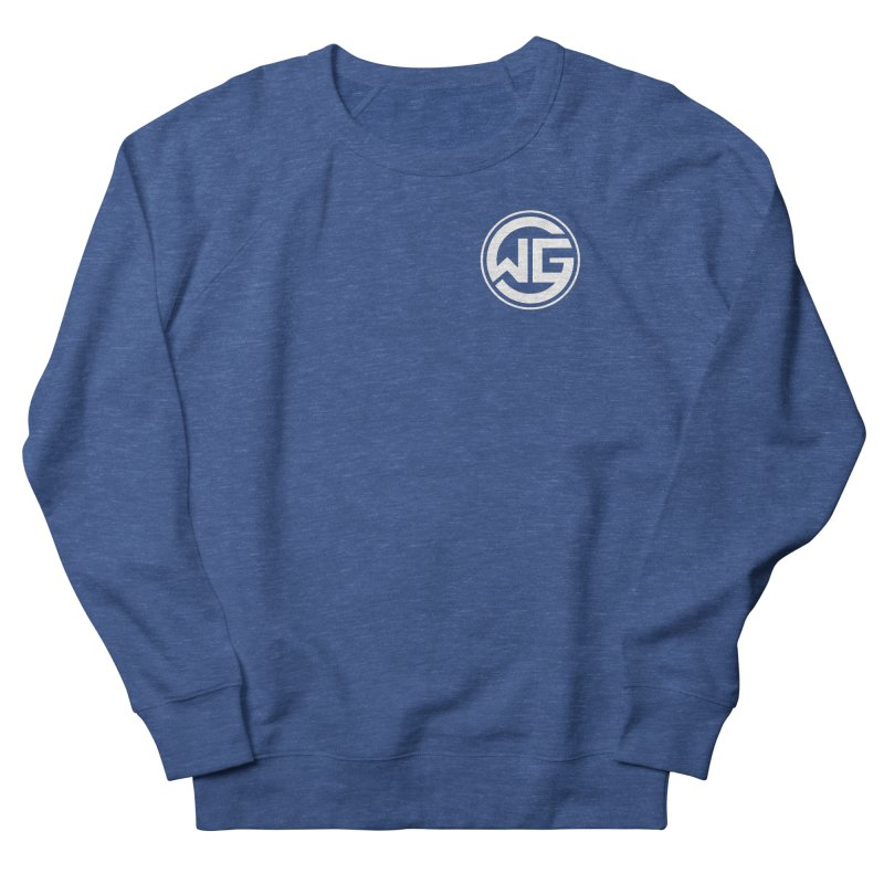 WGG (White) Men's Sweatshirt by The Wicked Good Gaming Shop