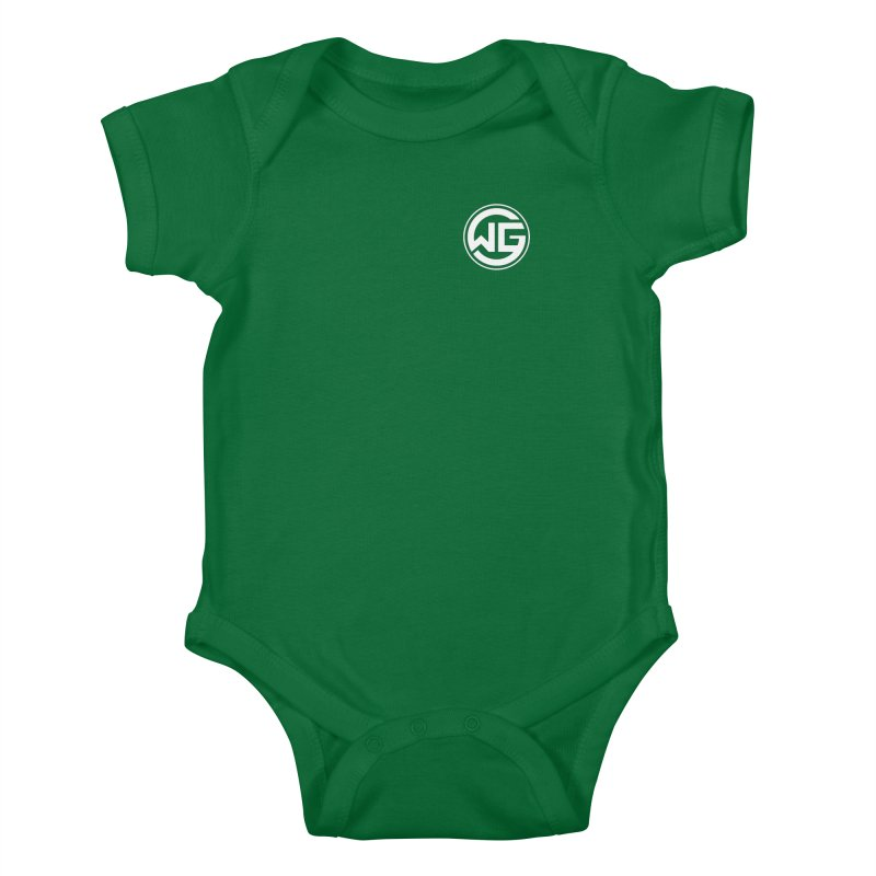 WGG (White) Kids Baby Bodysuit by The Wicked Good Gaming Shop