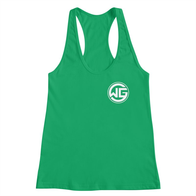 WGG (White) Women's Tank by The Wicked Good Gaming Shop