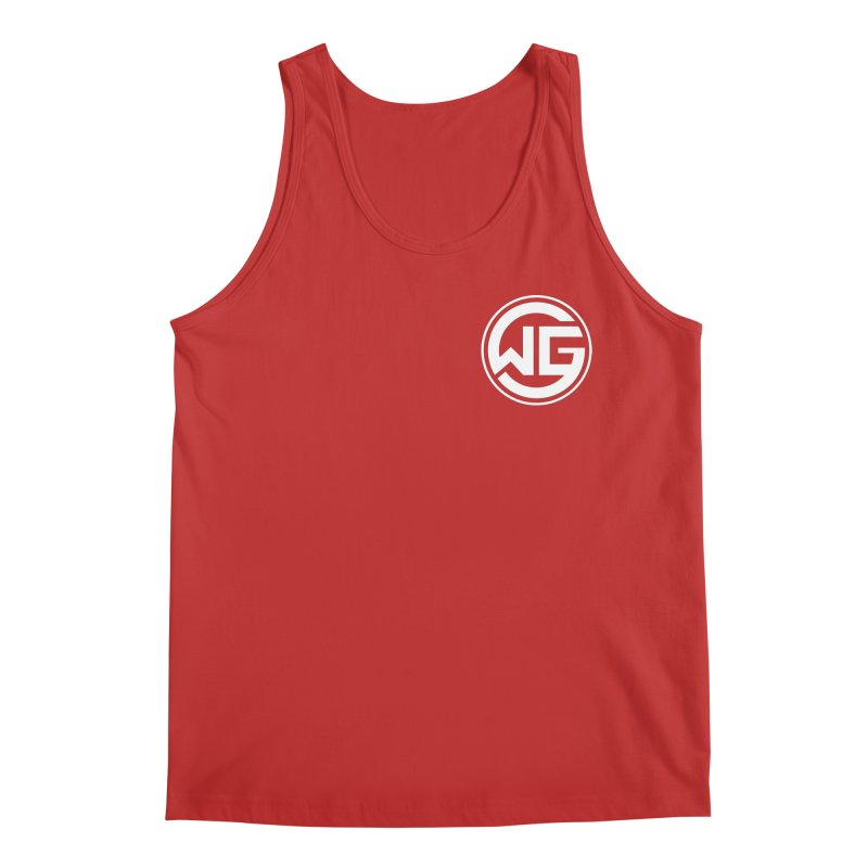 WGG (White) Men's Tank by The Wicked Good Gaming Shop