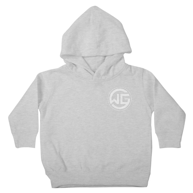 WGG (White) Kids Toddler Pullover Hoody by The Wicked Good Gaming Shop