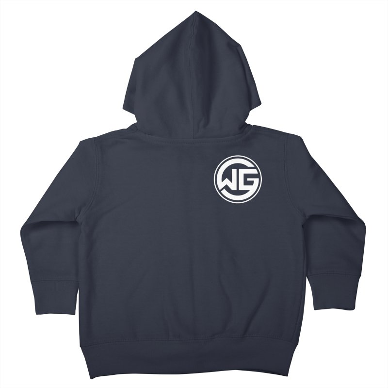 WGG (White) Kids Toddler Zip-Up Hoody by The Wicked Good Gaming Shop