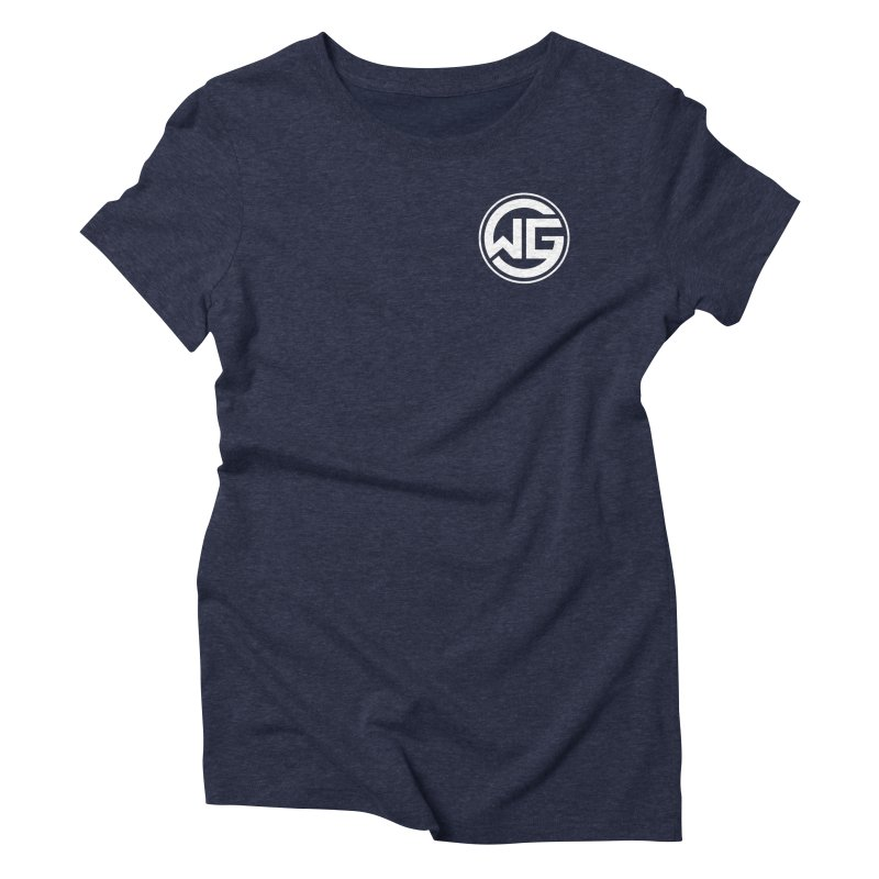 WGG (White) Women's Triblend T-Shirt by The Wicked Good Gaming Shop