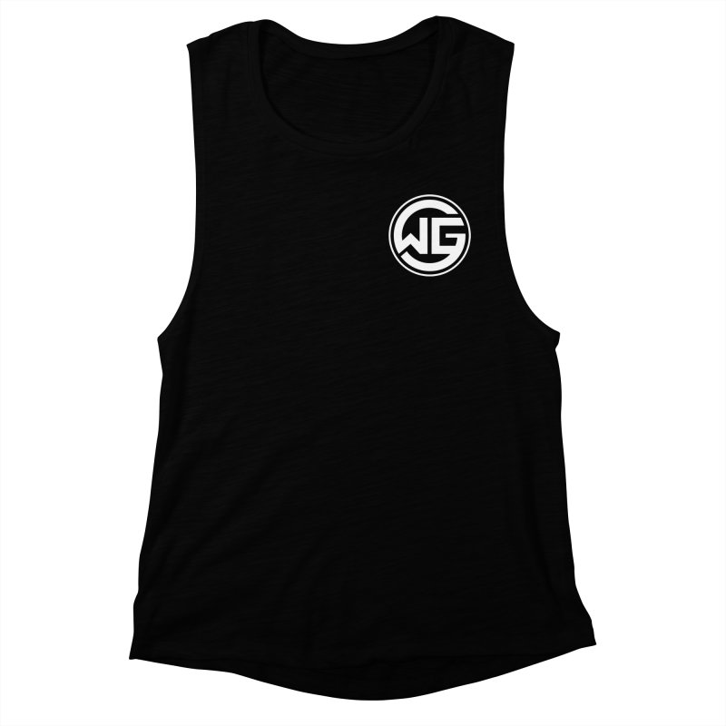 WGG (White) Women's Muscle Tank by The Wicked Good Gaming Shop