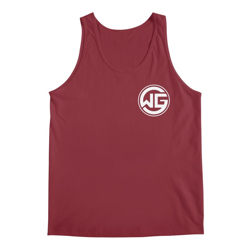 WGG (White) Men's Regular Tank by The Wicked Good Gaming Shop