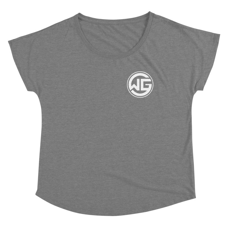 WGG (White) Women's Scoop Neck by The Wicked Good Gaming Shop