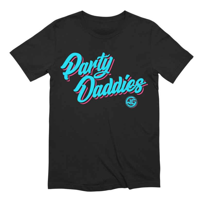 Party Daddies Men's T-Shirt by The Wicked Good Gaming Shop