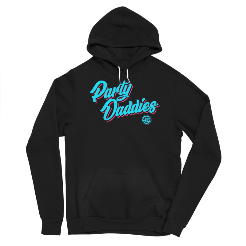 Party Daddies Men's Pullover Hoody by The Wicked Good Gaming Shop