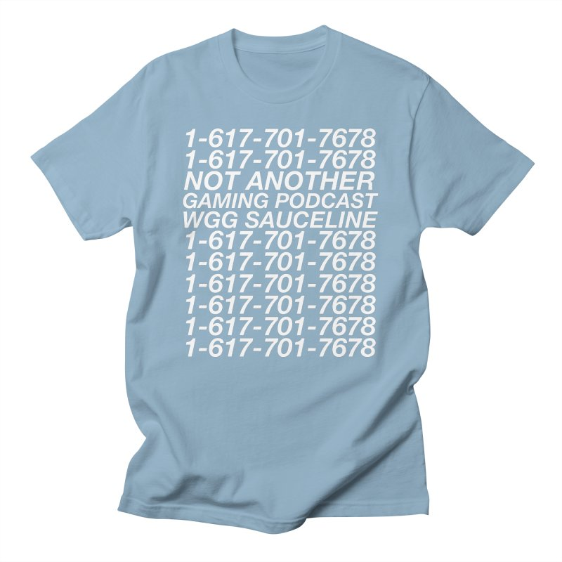 1-617-701-7678 Men's T-Shirt by The Wicked Good Gaming Shop