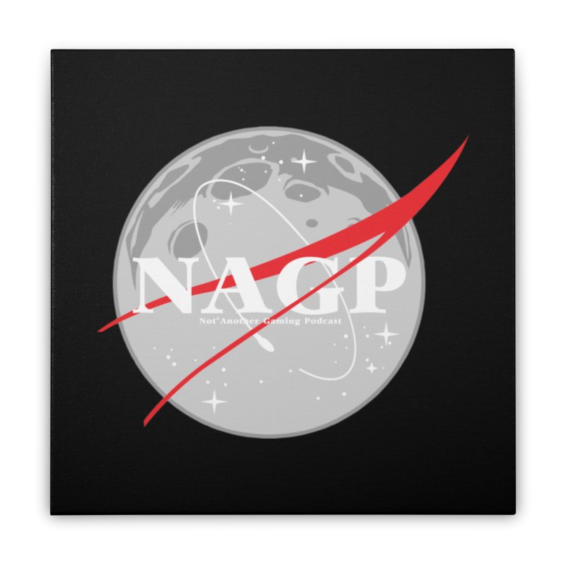 La Luna Home Stretched Canvas by The Wicked Good Gaming Shop
