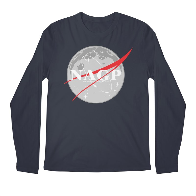 La Luna Men's Longsleeve T-Shirt by The Wicked Good Gaming Shop